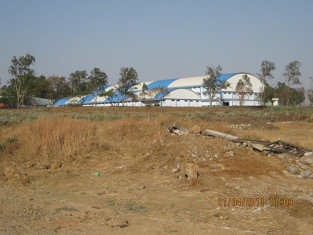 Supreme Industries Ltd, Dajikaka Gadgil Developers' Anant Srishti at Kanhe, is just behind