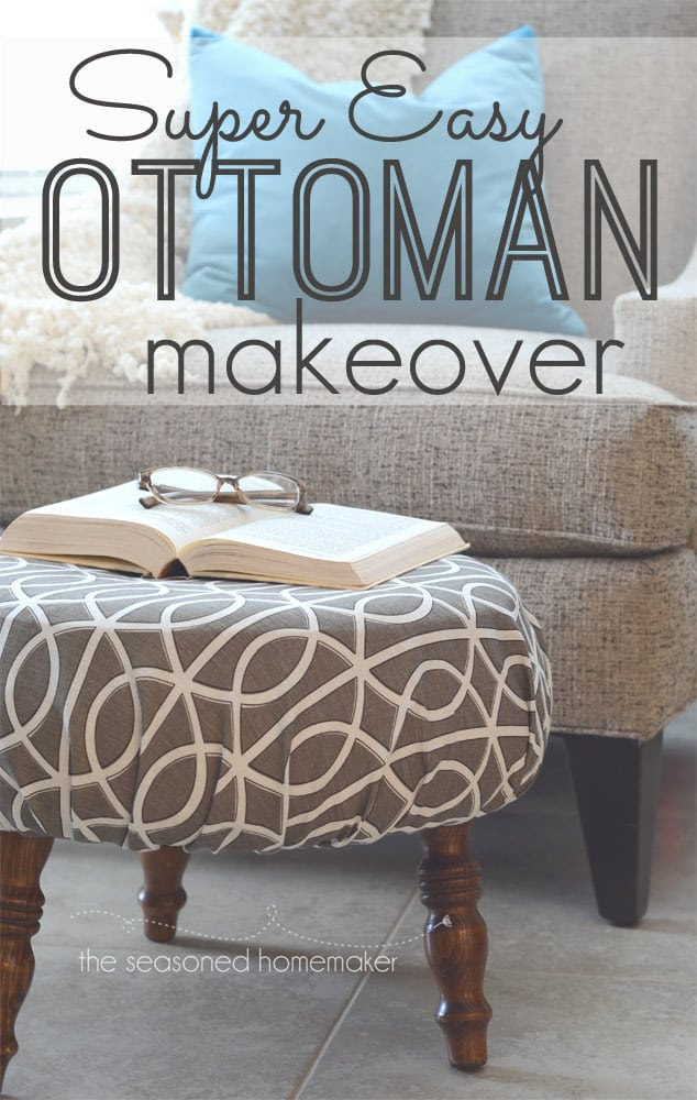 How to Recover an Ottoman for Free