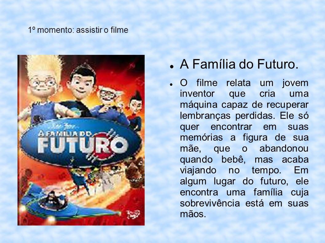 Resultado de imagem para filme familia do futuro atividades