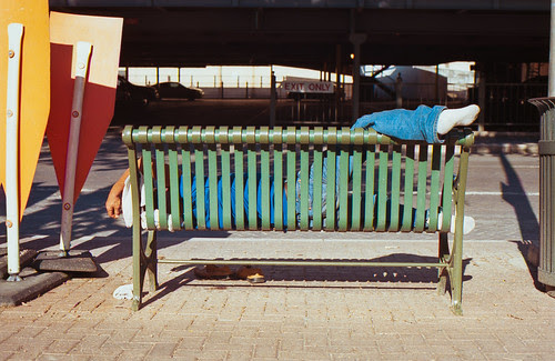Makeshift Bed by Jesse Acosta