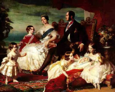pictures of queen victoria and her family. The children and grandchildren of Queen Victoria.