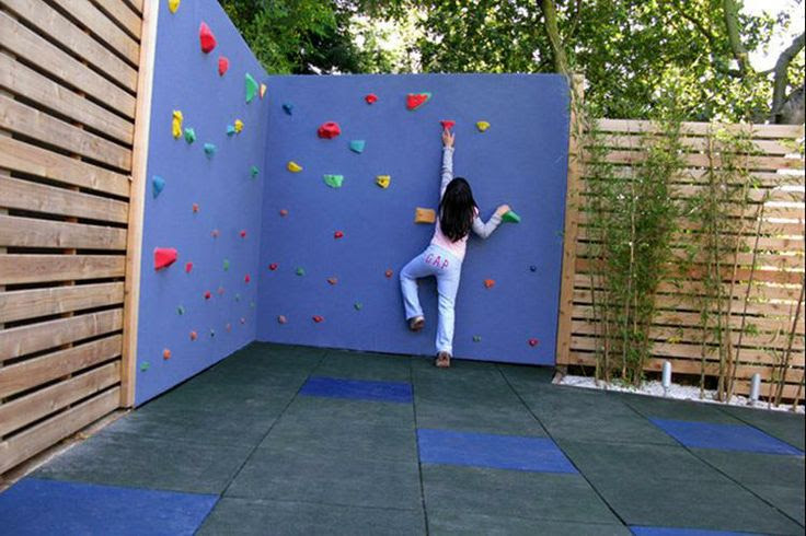 Kids Outdoor Climbing Wall
