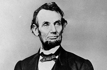 portrait photograph of abraham lincoln