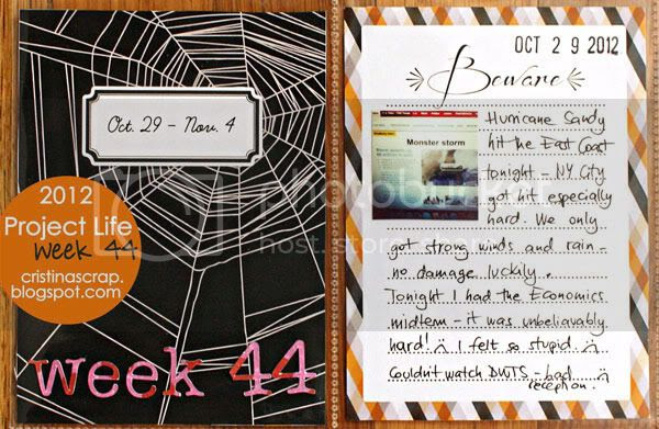 Project Life - Week 44