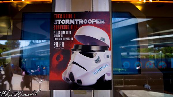 Disneyland Resort, Disneyland, Tomorrowland Terrace, Storm Trooper, Mug