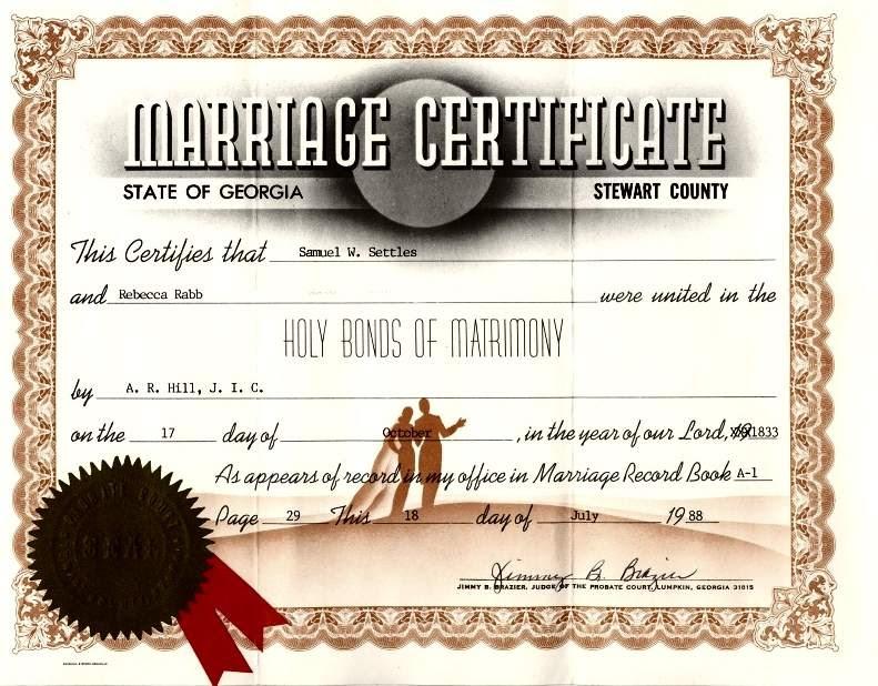 Yw116gox Getting A Duplicate Marriage Certificate