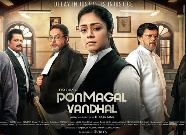 Ponmagal Vandhal Malayalam Movies 2020