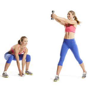 Get to a greater extent than smasher for your workout  flare-up amongst these 1 Shape Up inwards vii Minutes