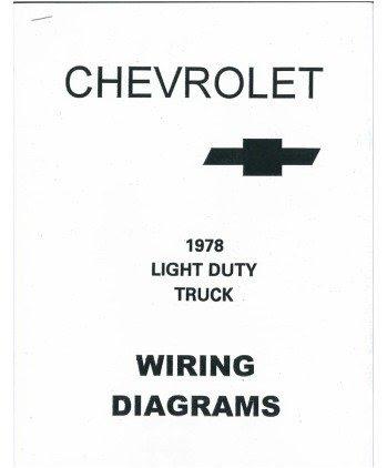 1978 chevrolet truck wiring diagrams schematics - CarSoftware