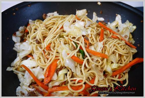 小吃攤炒麵07