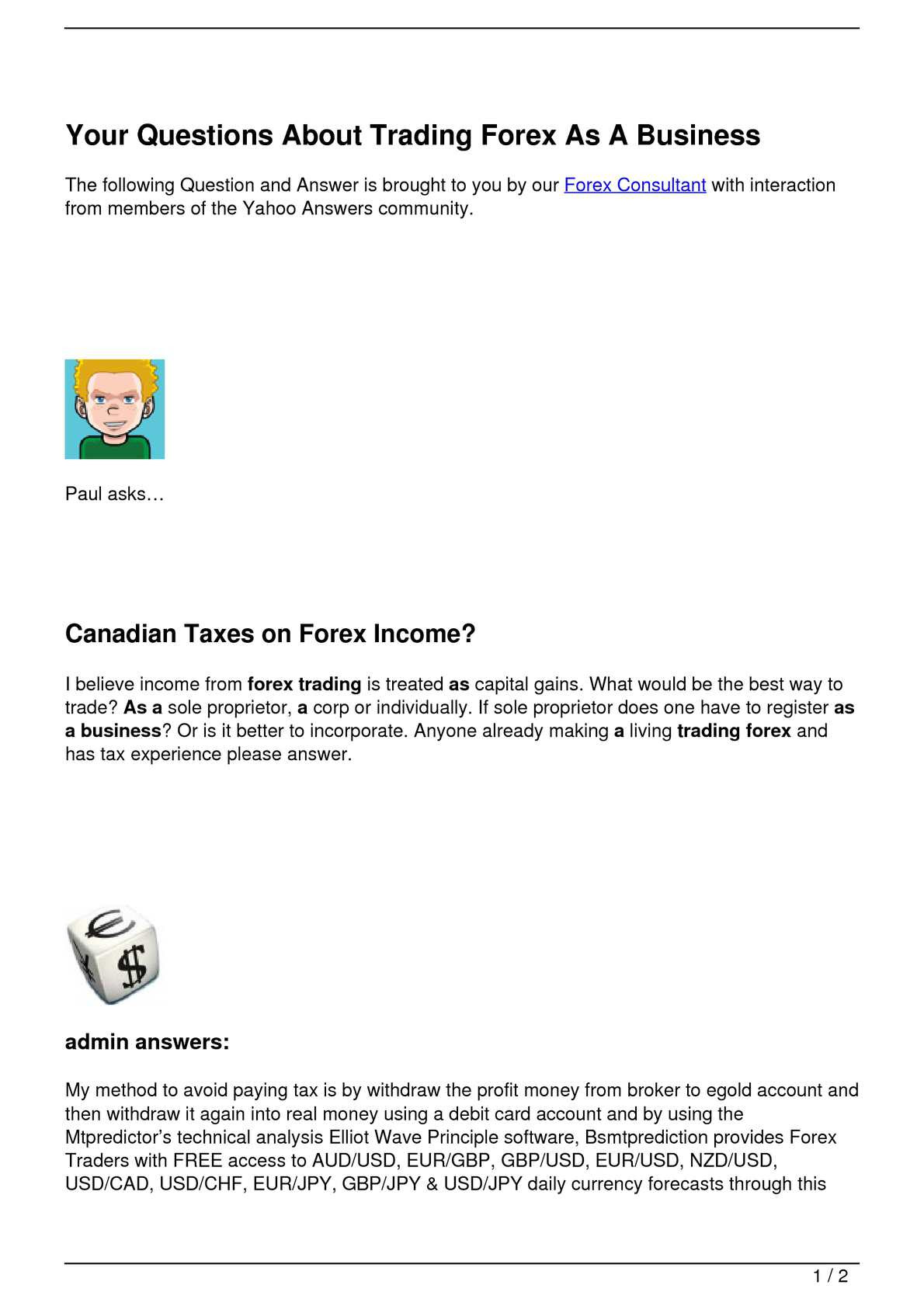 forex taxe carduri