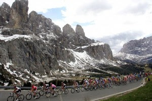 Se viene una nueva edición del Giro de Italia. Foto Daylirecord