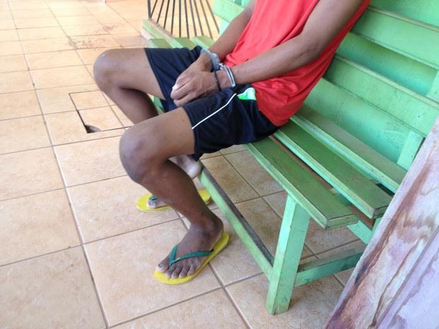 Menor apreendido foi transferido para Porto Velho nesta segunda-feira (25) (Foto: Júnior Freitas/G1)