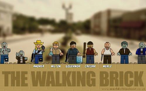 Slightly Inappropriate Lego: The Walking Brick ~ Bad Guys