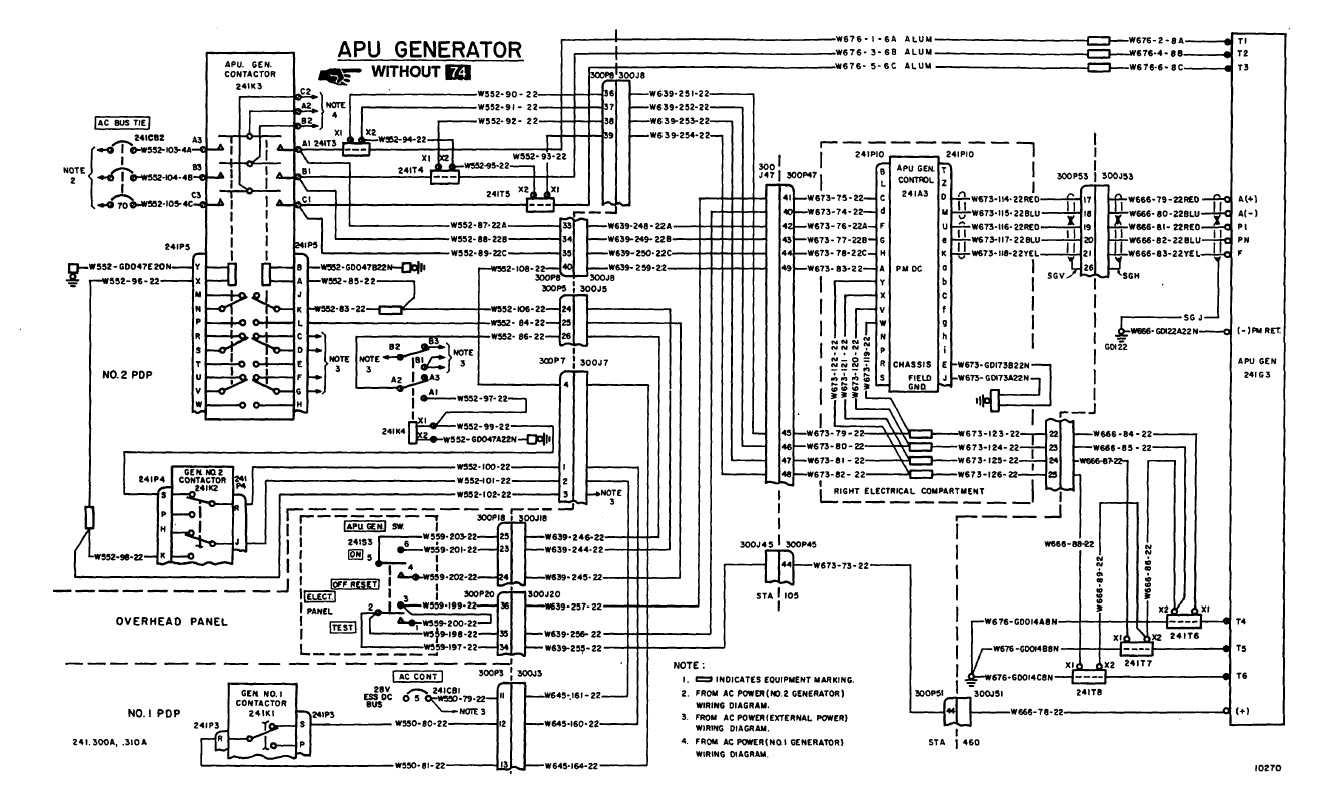 Ac Power Wiring Diagram Continued Tm 55 1520 240 T 2 569