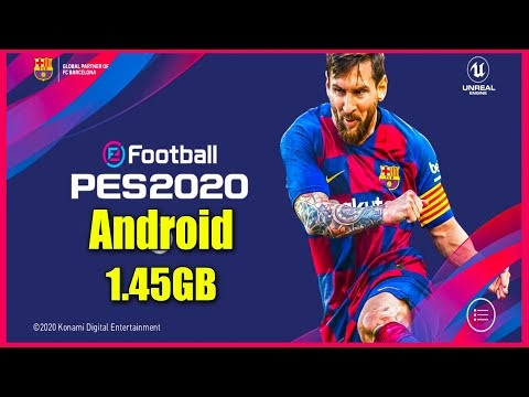 PES 2020 APK OBB 4.6.1 DOWNLOAD (eFootball) FOR ANDROID DEVICES