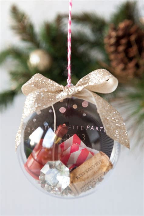 Learn how to make this darling wedding keepsake ornament!