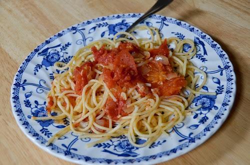 Oil Poached Tomato Sauce