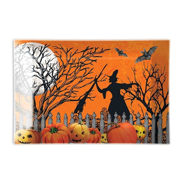Trick Or Treat Halloween Matching Soap Dish Michel Design Works