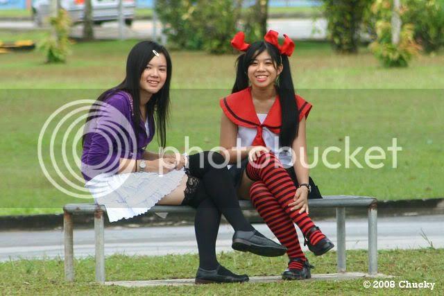 smiling kichan and sakura