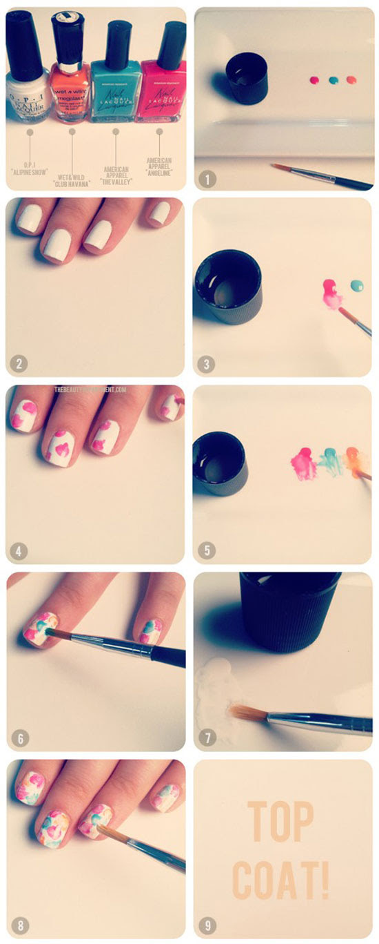 25-Best-Easy-Nail-Art-Tutorials-2012-For-Beginners-Learners-16