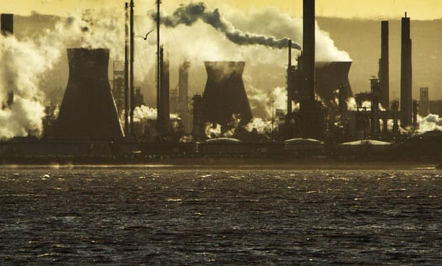The Ineos oil refinery at Grangemouth       in Scotland