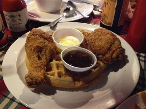 chicken  waffles picture  lillie maes house