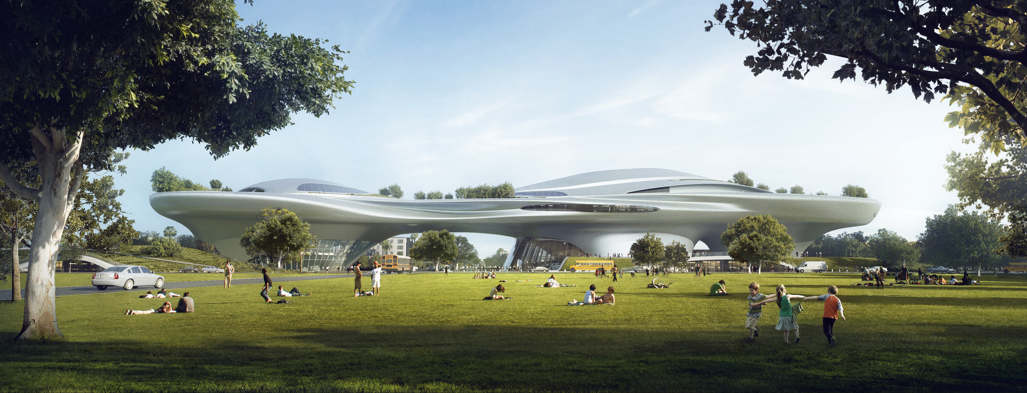 Los Angeles Will Be Home To George Lucas 1 Billion Museum Los