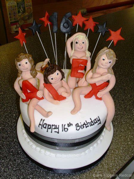 Adult Cakes   Cake Toppers Redcar