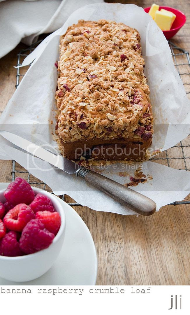 banana raspberry crumble loaf photo blog-3_zpsdc7535dd.jpg
