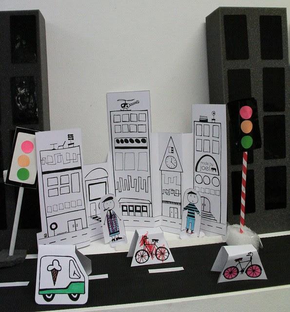 art month 2011 - itty bitty city