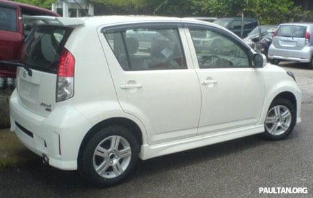 2007 Perodua Myvi Special Edition (Myvi SE)