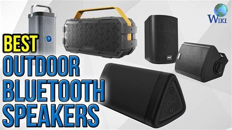 10 Best Outdoor Bluetooth Speakers 2017   YouTube
