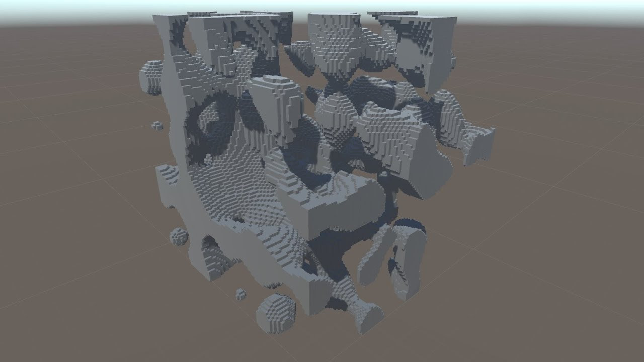 My Adventure With 3d Perlin Noise Youtube