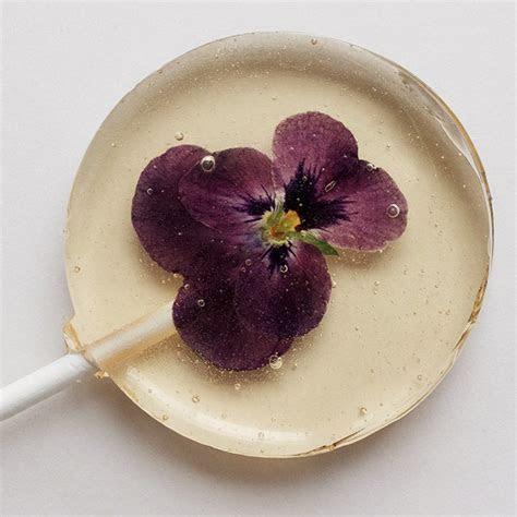Edible Flower Ideas   Little Lollipop Shop