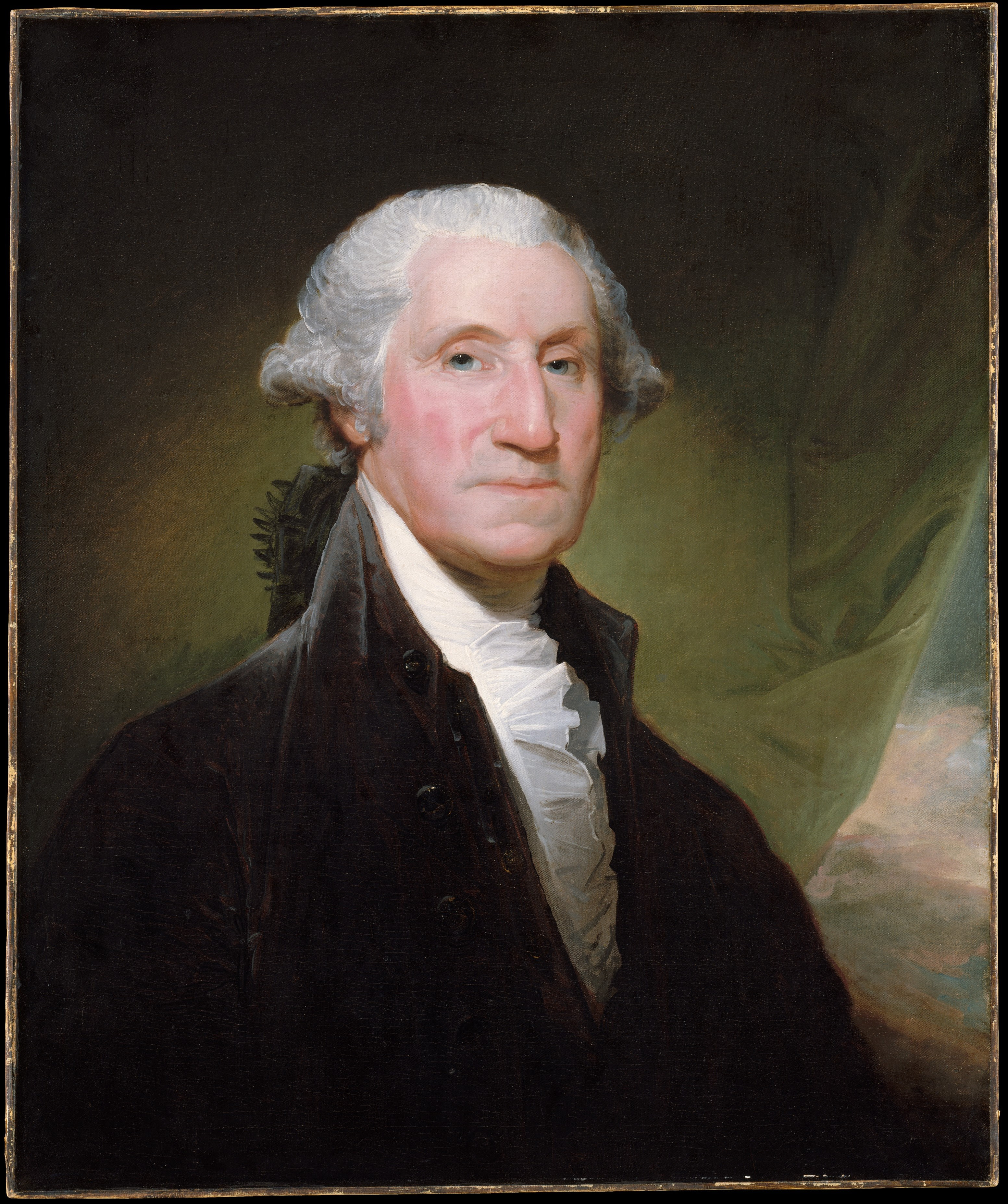Gilbert Stuart: George Washington