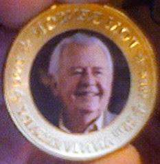 Tom Benson Coin Heads