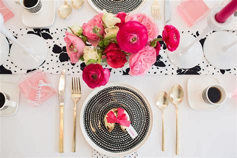 Pink, Black and White Party   Made From Scratch