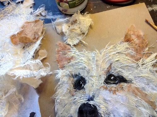torn-paper-pet-portrait-in-progress