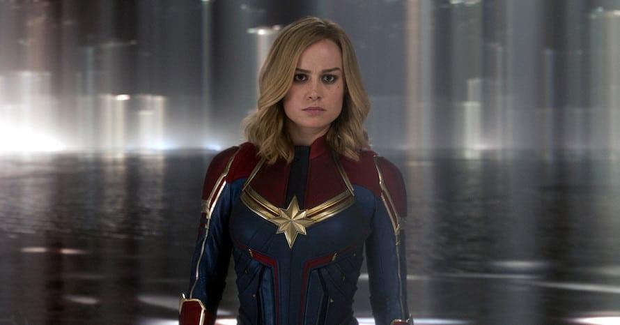 Iron Man 2 Thor Captain Marvel 2 Carol Danvers Avengers Endgame Brie Larson