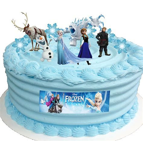 Frozen Disney Elsa Birthday Party Cup Cake Toppers STAND