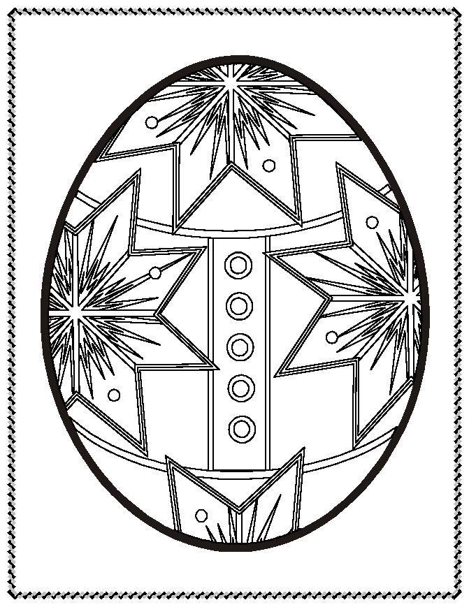 Easter Eggs Coloring Pages To Print Coloring Pages