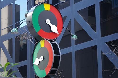 Relógio Modernista Melbourne