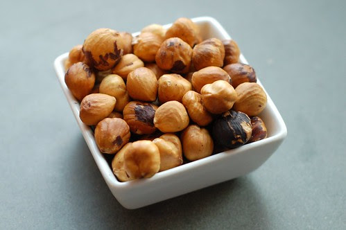 Toasted hazelnuts by Eve Fox, Garden of Eating blog, copyright 2012