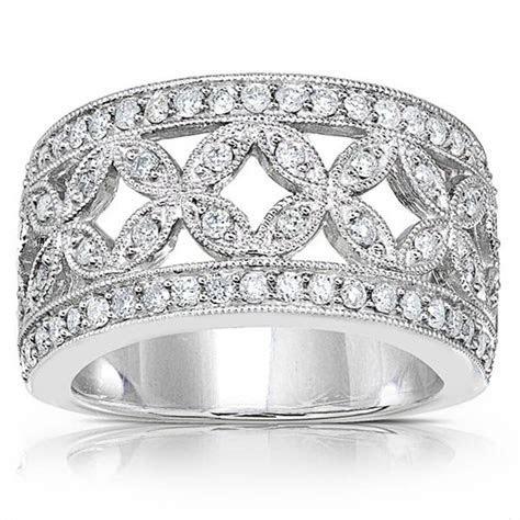 wide band diamond wedding rings for women   women?s