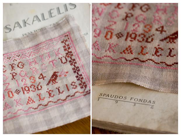 Petites Lettres Rouges (Blackbird Designs)