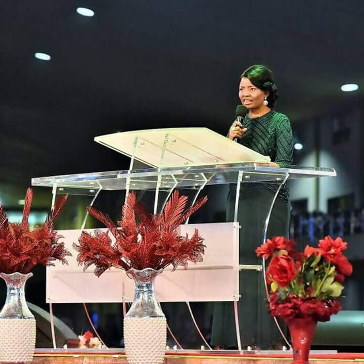 Faith Oyedepo Rescues Traumatized Teenager During Evangelism