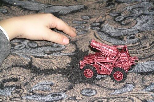 Ванька и машина Hunter
