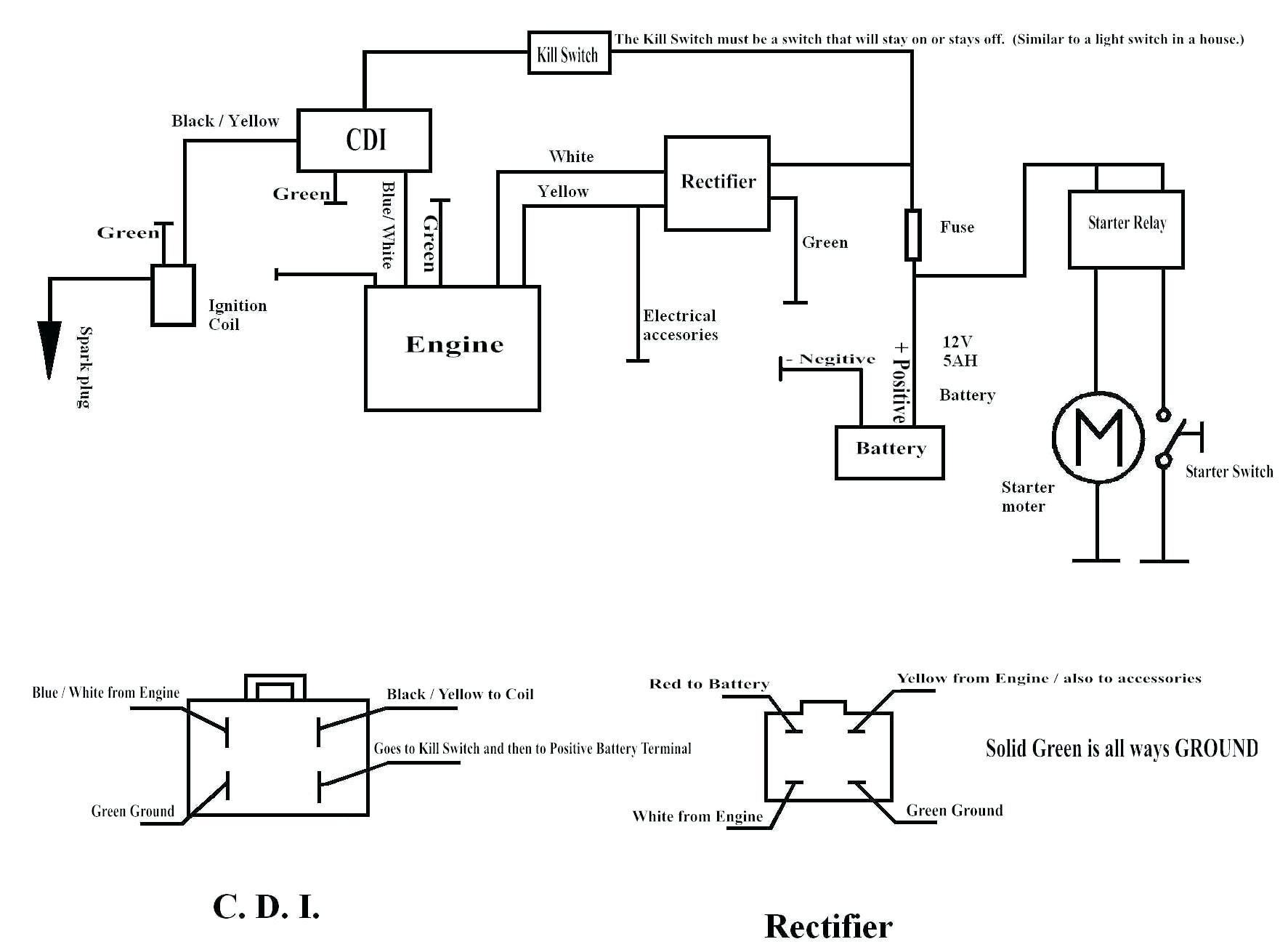 1x 49cc Pocket Bike Wiring Diagrams Auto Wiring Harness Kits Bobcate S70 Yenpancane Jeanjaures37 Fr