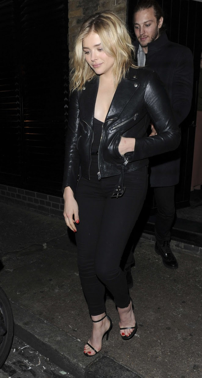 Chloe Moretz: Leaves the Chiltern Firehouse -05